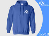 TV Are You Ready - Dames Hoody Kobalt - Wit