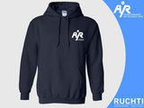 TV Are You Ready - Dames Hoody Donkerblauw  - Wit