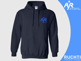 TV Are You Ready - Dames Hoody Donkerblauw  - Kobalt