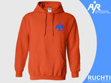 TV Are You Ready - Heren Hoody Oranje - Kobalt