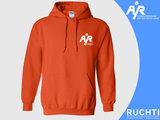 TV Are You Ready - Heren Hoody Oranje - Wit