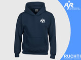 TV Are You Ready - Meisjes Hoody Donkerblauw - Wit