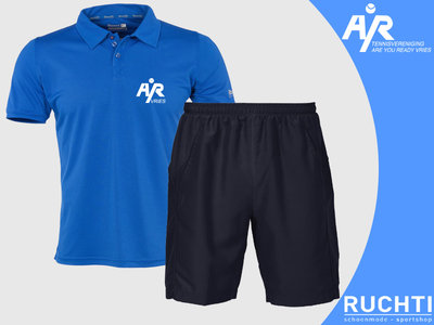 TV Are You Ready - Heren - Set Polo & Short