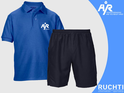TV Are You Ready - Jongens - Set Polo & Short